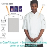 Short Sleeve Staycool Chef's Jacket