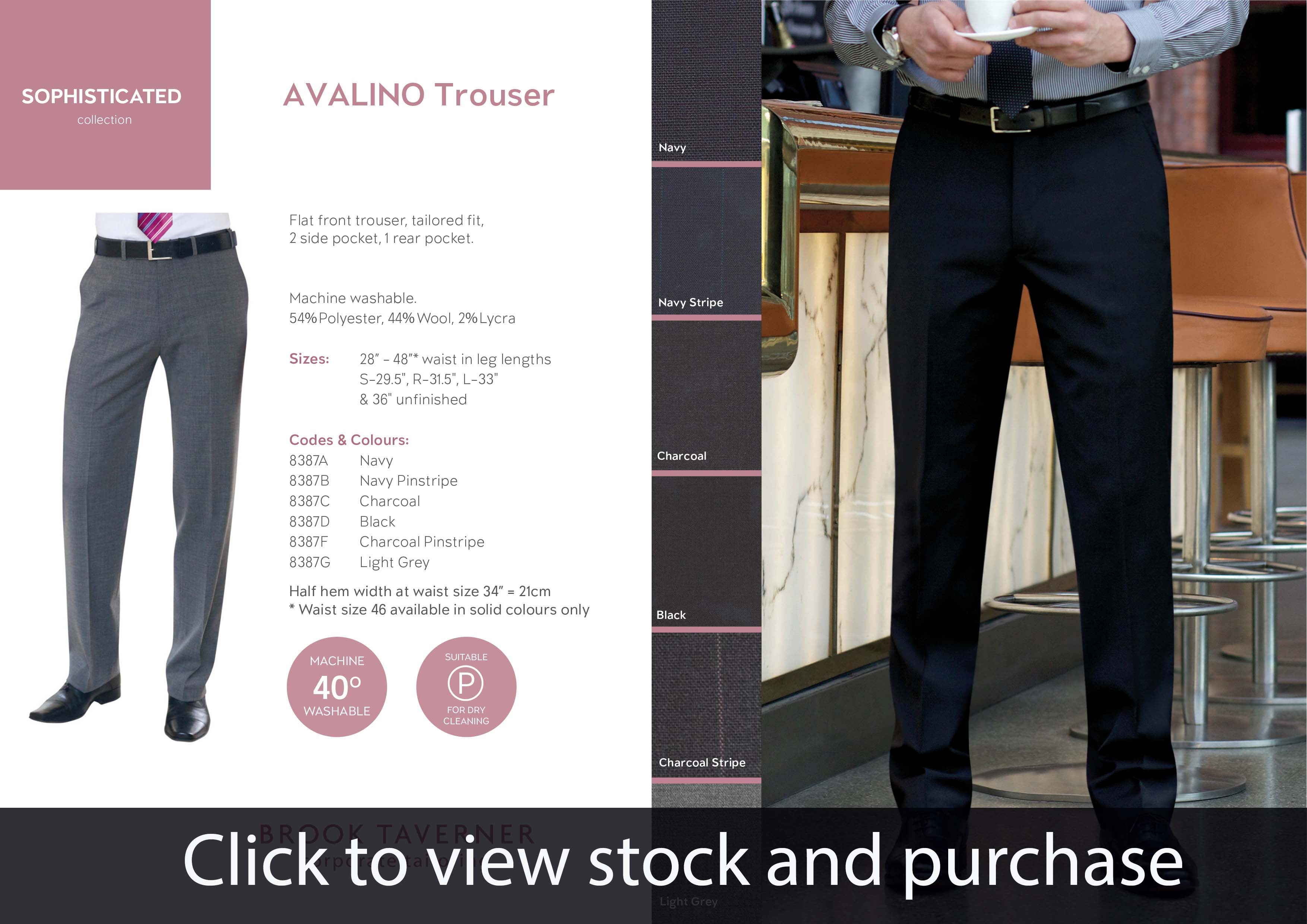 Brook Taverner Avalino Trousers