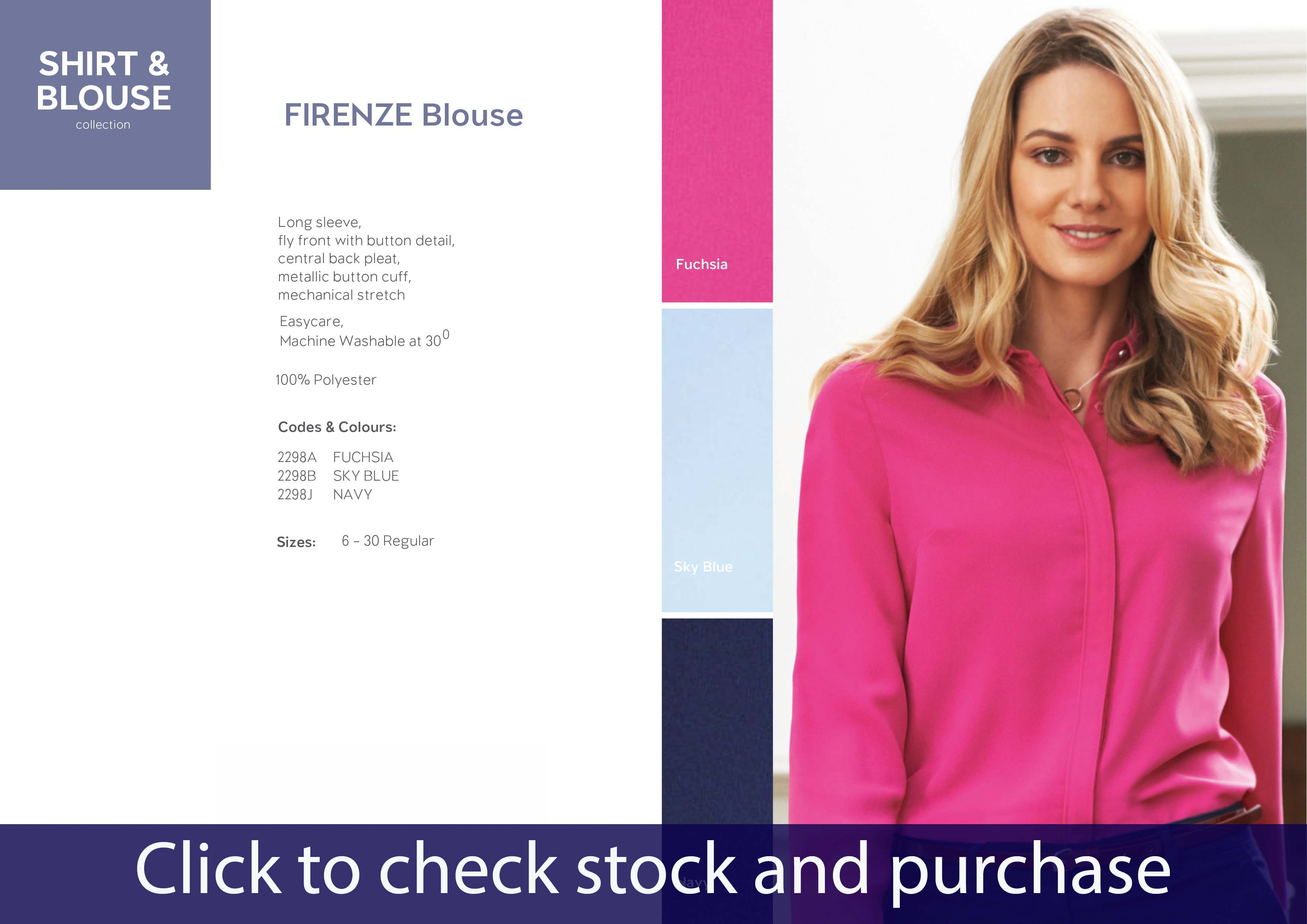BROOK TAVERNER FIRENZE BLOUSE 2298